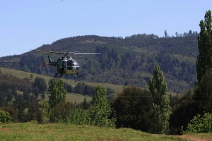 Allanamiento en comunidades mapuche