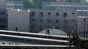 Motin en la Penitenciaria de Santiago.