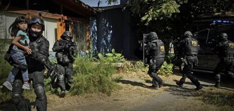 Imagenes de allanamientos a comunidades mapuche