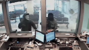 Imagenes de otros asaltos con que la fiscalia quiere vincularlos