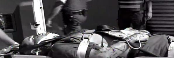 Imagenes del guardia herido