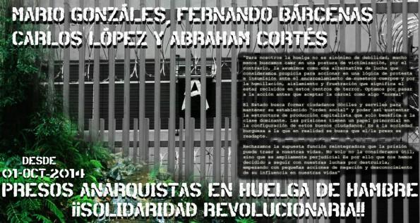 presos en huelga de hambre