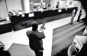 NEWS RELEASE:  Bank Robbery at Bank Atlantic, 10 Fairway Drive, Deerfield Beach, FL 10/13/2010.  On 10/13/2010, at approximately 11:10 am, the Bank Atlantic branch located at 10 Fairway Drive, Deerfield Beach, FL, was robbed by two armed males.  Attached are still pictures of the robbery.  As soon as any more information becomes available it will be forwarded.  If anyone has information about this robbery, please call the FBI at 305-944-9101 or Crimestoppers.