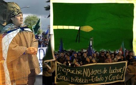 Resultado de imagen para Marcha por los Derechos Sociales y por el Machi Celestino Córdoba